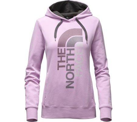 365a36cf3 The North Face Women's TriVert Logo Pullover Hoodie,Lupine/Asphalt Grey  Multi,US