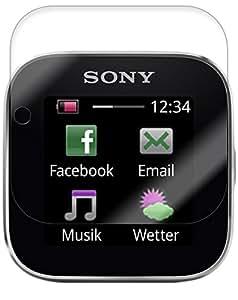 Sony SmartWatch Screen Protector, Skinomi TechSkin Full Coverage Screen Protector for Sony SmartWatch Clear HD Anti-Bubble Film