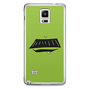 Smiley Samsung Note 4 Transparent Edge Case - Design 12
