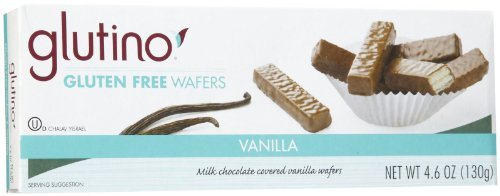 Glutino Vanilla Wafers, 4.6 oz