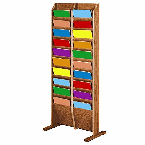 freestanding literature rack - 4