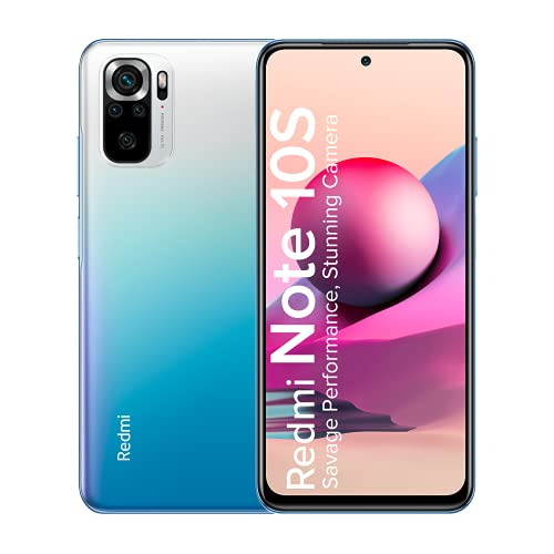 Redmi Note 10S (Deep Sea Blue, 6GB RAM, 128GB Storage) – Super Amoled Display | 64 MP Quad Camera |NCEMI Offer on HDFC Cards