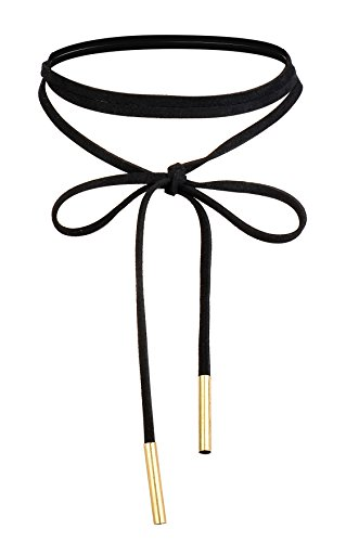 FIBO STEEL Leather Necklace Adjustable