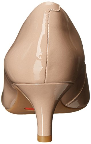 Rockport Womens Total Motion Kalila Dress Pump Warm Taupe Patent
