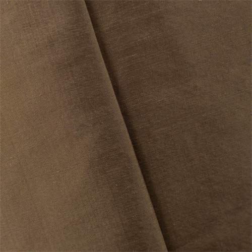 Tawny Brown Iridescent Silk Taffeta Home Decorating Fabric, Fabric by The Yard