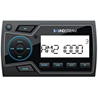 Soundstream MHU-32 2 Marine Grade Digital Media Player with 32GB USB Playback/Bluetooth 4.0/2-Zone Audio