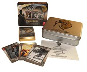 """007 50th Anniversary Playing cards """"Limited to 5000 worldwide"""""""