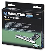 Manhattan 5-Channel PCI Sound Card (158107)