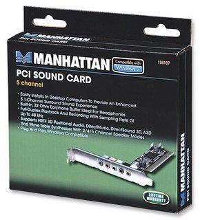 Manhattan 5-Channel PCI Sound Card