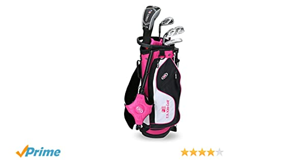 US Kids 2017 Golf Ultra Light, 5 Club Stand Golf Set with Bag (51