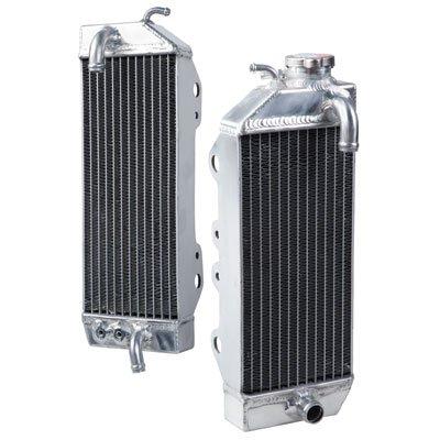 Tusk Aluminum Radiator Set - Fits: Kawasaki KX250F 2009-2016 by Tusk