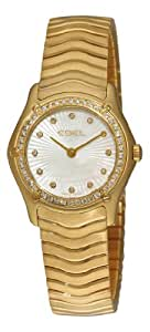 Ebel Women's 8256F24/99925 Classic Mother-Of-Pearl Dial Diamond Watch