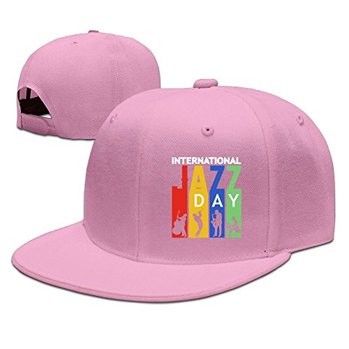 Michgton International Jazz Unisex Snapback Adjustable Flat Bill Baseball - Usps International Shipping Letter Time