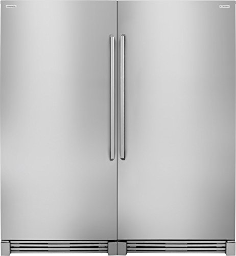 Electrolux 2-Piece Stainless Steel Refrigerator Set with EI32AR80QS Built-In 32