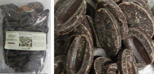 - Valrhona 64% Manjari Dark Bitter Sweet Chocolate Feve 1/2 lb