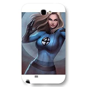 Kingsface UniqueBox Customized Marvel Series case cover for Samsung Galaxy Note 2, Marvel Comic Hero Invisible Woman Samsung Galaxy Note 2 case cover, Only Fit for Samsung Galaxy Note 2 KtPjBxbGWf1