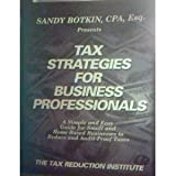 img - for Tax Strategies for Business Professionals book / textbook / text book