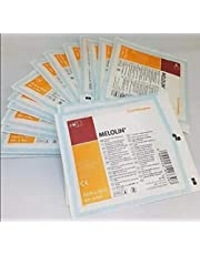 MELOLIN QTY 50 10cm x 10 cm INDIVIDUAL STERILE NON ADHERENT DRESSINGS