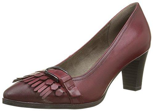 Tamaris 24408, Zapatos de Tacón para Mujer Rojo (BORDEAUX 549)
