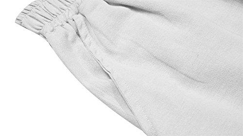 Vintage Disfraz Winered Taille Pantalones De Pierna Lino Verano Elegantes Palazzo Mujer Anchas 7 Ancha Basicas Libre Elastische Tiempo 8 Cómodo Sólido Pantalon Color Fashion qBF7nwgn