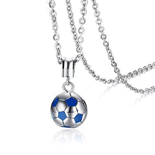 AILUOR 2018 World Cup Jewelry Gift, Football Soccer Ball Pendant Necklace for Young Women Men and Girls 20