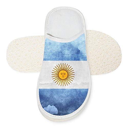 Argentina Flag Rio Unisex Adult Cotton House Slippers Keep Warm House Crocs Lover 10 B(M) US ()