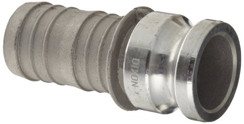 (Dixon G300-E-AL Aluminum A380 Global Type E Cam and Groove Hose Fitting, 3