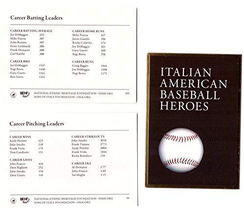 2009 Italian American Baseball Heroes Headers 3 cards