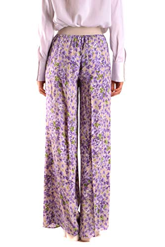 Viscosa Mujer Pantalón Morado Mcbi35761 Twin set w6cqIWBIS