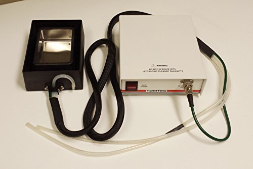 (TOMTEC TIP WASH Station 020847-03 Control Module 020846-01 QUADRA 3 ULTRASONIC Bath w/Power Cord)