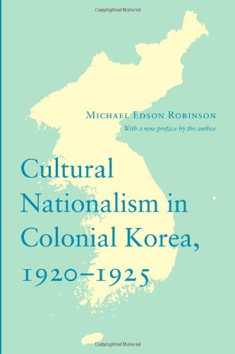 Cultural Nationalism in Colonial Korea, 1920-1925 …