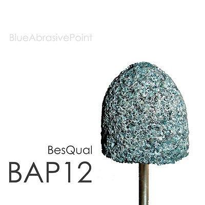 100pk Blue Abrasive Point Small HP Shank