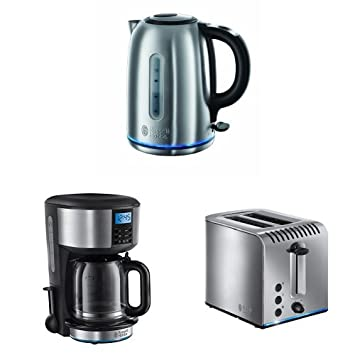 Russell Hobbs Buckingham Quiet Boil Kettle Coffee Maker