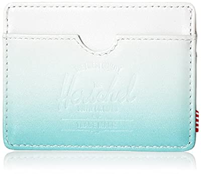Herschel Supply Co. Men's Charlie Leather White/Aqua