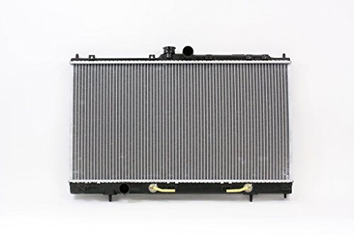 Radiator - Cooling Direct For/Fit 2448 02-07 Mitsubishi Lancer Automatic 2.0L Plastic Tank Aluminum Core