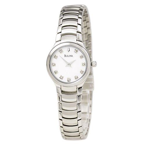 Bulova Diamond Accent Watch (Bulova Women's 96P20 Diamond Accent Watch)