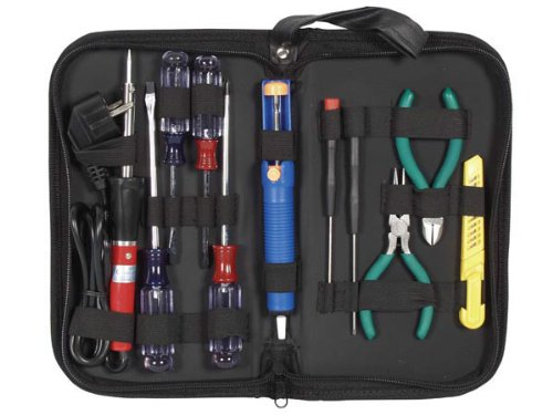 Very Popular Electronic Soldering Tool Kit Set for Students (Popular Electronics)
