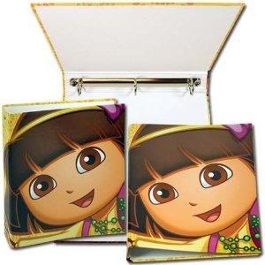 Dora The Explorer 3 Ring Hard Cover Binder