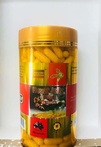 Costar Royal Jelly 1610mg 365 Capsules Australian Made