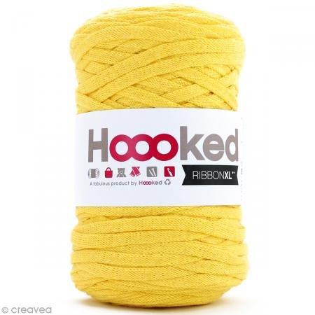Hoooked Ribbon XL Yarn-lemon Yellow