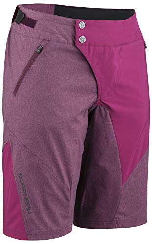 - Louis Garneau Women's Dirt Bike Shorts, Shiraz, Medium