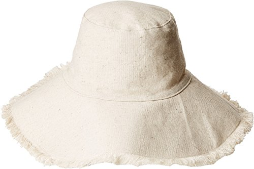 Hat Attack Women's Fringed Edge Sunhat Natural One Size
