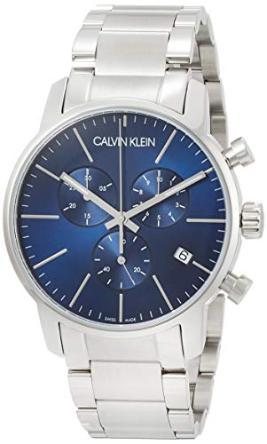 Calvin Klein Men's Chronograph Quartz Watch with Stainless Steel Bracelet - K2G2714N
