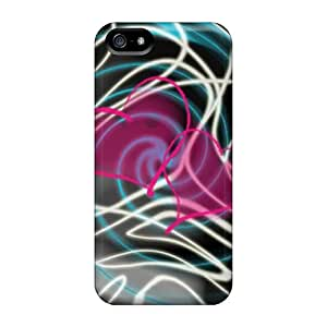 Shock-dirt Proof Crazy Love Cases Covers For Iphone 5/5s