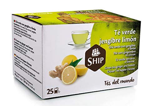 Ship C/25 TE VERDE JENGIBRE Y LIMON SHIP
