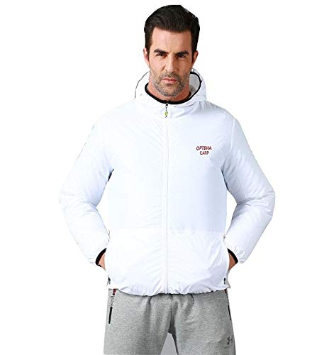 GOONFIT Cooling Fan Jacket,Air Conditioning Clothes,Summer Outdoor Work/Outwork Clothes L White by GOONFIT