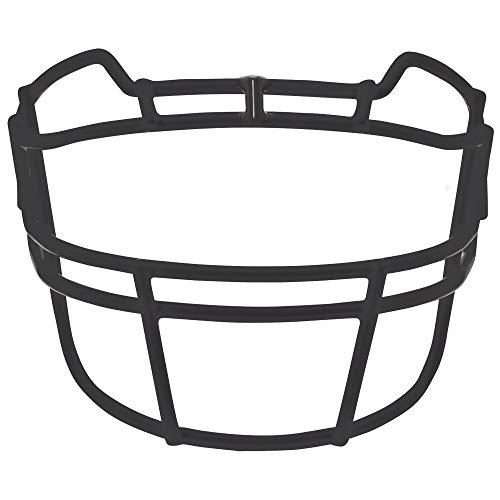 Schutt Sports VROPO TRAD Carbon Steel Vengeance Varsity Football Faceguard, Black