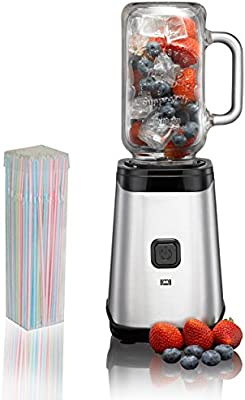 Melissa Smoothie maker con 3 x Mason Jar vasos de 500 ml, batidora ...