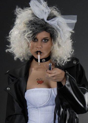 Las señoras la novia de Chucky disfraces peluca