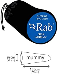 RAB Silk Mummy Sleeping Bag - Ink